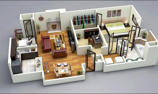3D Home Plan Design For PC Windows (7, 8, 10, 10X) & Mac Computer Image Number- 14
