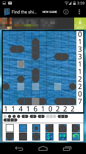 Find the ships - Solitaire 1.9.2 screenshots 1
