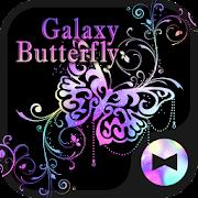 Stylish Theme Galaxy Butterfly