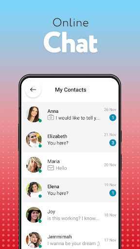 Dating.comu2122: meet new people online - chat & date screenshots 5