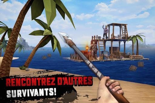 Code Triche Raft Survival: Survie sur un radeau - Nomad (Astuce) APK MOD screenshots 4