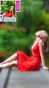 DSLR Image Blur Background , Bokeh Effects Photo
