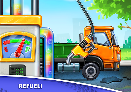 Image For Truck games for kids - build a house, car wash Versi 7.3.4 14