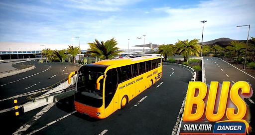 Bus Simulator : Dangerous Road screenshot 8
