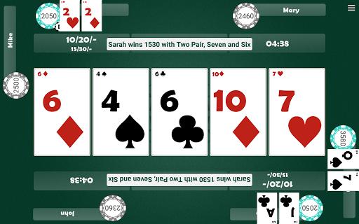 Virtual Poker Table : Cards, Chips & Dealer  screenshots 12