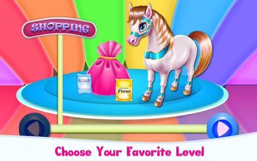 Pony Cooking Rainbow Cake screenshots 2