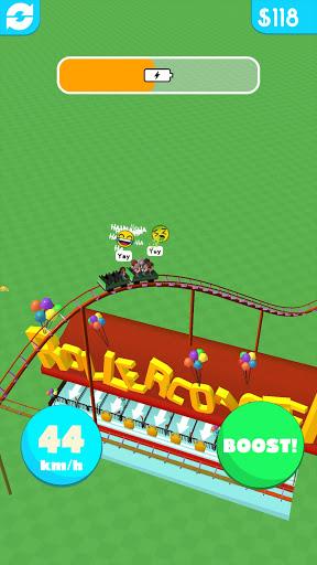 Hyper Roller Coaster apkdebit screenshots 2