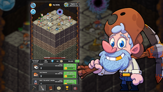 Tap Tap Dig – Idle Clicker Game Mod Apk 2.0.9 (Money/Gems is Increasing) 6