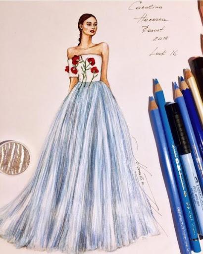 Creative Fashion Design Flat Sketch Ideas  Screenshots 3