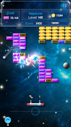 Brick Breaker : Space Outlaw 1.0.29 screenshots 4