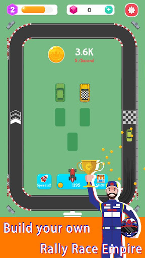 Merge Rally Car - idle racing game 1.6.9 screenshots 1