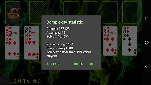 Spider Solitaire (Web rules)  screenshots 7