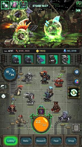 World Beast War: Merge Rampage Monsters  screenshots 11