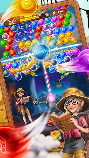 Bubble Journey -  Bubble shooter & Adventure story android2mod screenshots 3