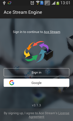 Ace Stream for Android TV 3.1.63.2 Screenshots 1