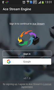 Ace Stream for Android TV 1