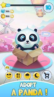 Pu pet care - Cute panda bear 3.1 screenshots 1