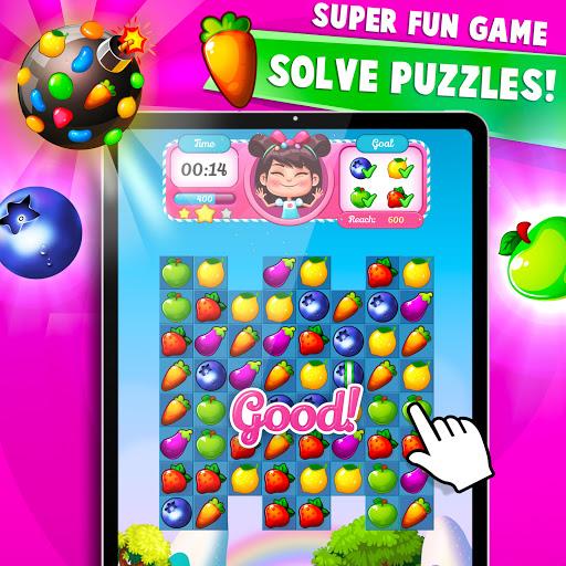 Fruit Crush : Fruit Candy Blast - Match Puzzle  screenshots 9