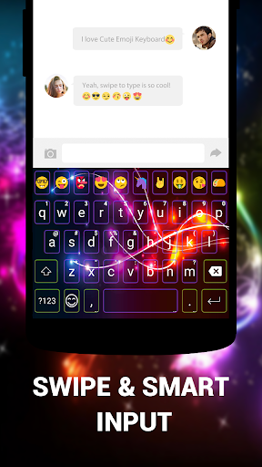 Emoji Keyboard Cute Emoticons - Theme, GIF, Emoji 1.8.5.0 screenshots 7