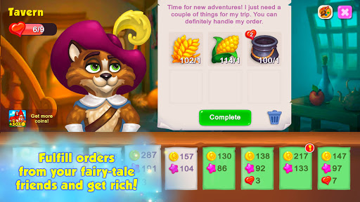 Royal Farm: Village life & quests with fairy tales  screenshots 2
