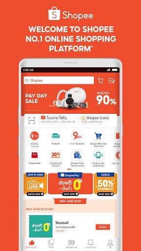 Shopee #1 Online Shopping Apkfinish screenshots 1