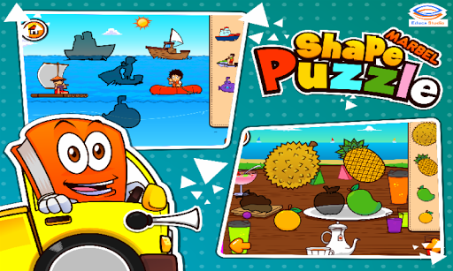 Marbel Shape Puzzle Kids Games modavailable screenshots 4