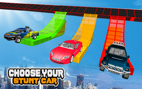 Mega Car Ramp Impossible Stunt Game 7