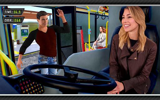 Offroad Mountains Bus Driving Simulator:Coach Game  screenshots 4