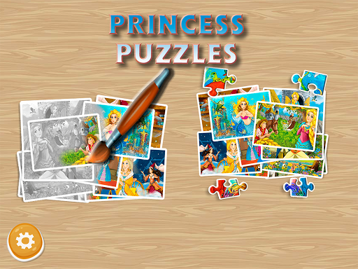 Princess Puzzles and Painting apkpoly screenshots 4