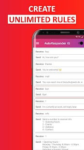 AutoResponder for Instagram - Auto Reply Bot Screenshot