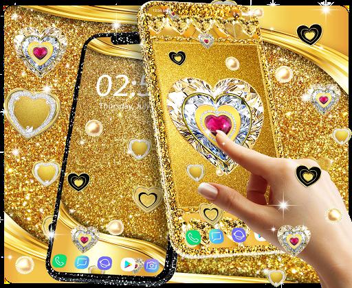 Gold live wallpaper 2021 apktram screenshots 13
