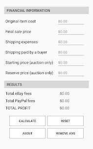 Fees Analyzer for eBay For Pc Or Laptop Windows(7,8,10) & Mac Free Download 2