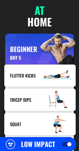 Lose Weight App for Men - Weight Loss in 30 Days apkpoly screenshots 3