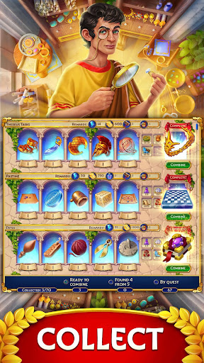 Jewels of Rome: Gems and Jewels Match-3 Puzzle screenshots 5
