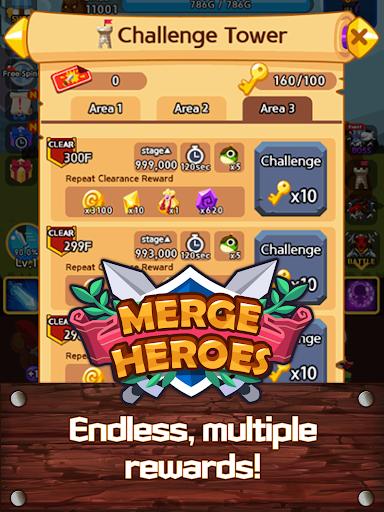 Merge Heroes Frontier: Casual RPG Online 3.3.0 screenshots 13
