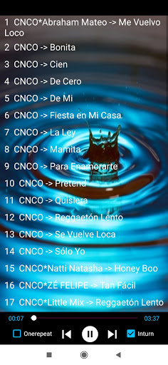 Escucha canciones de CNCO sin internet 1.2 screenshots 1
