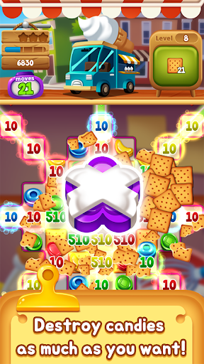 Food Pop: Food puzzle game king in 2021  screenshots 10