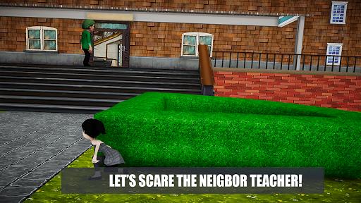 Horror Teacher School Creepy Game screenshots 11