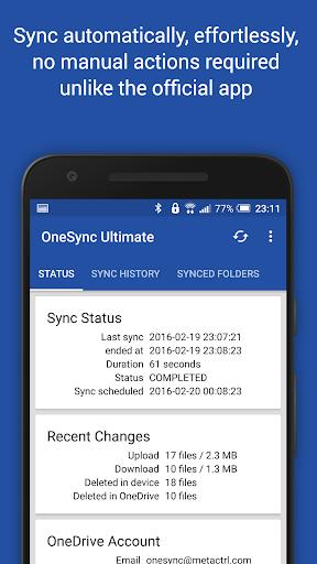 Autosync for OneDrive - OneSync screenshots 2
