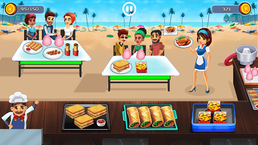 Cooking Cafe - Food Chef 4.0 screenshots 9