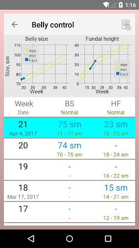 Pregnancy Calendar 2.5.1 Screenshots 7