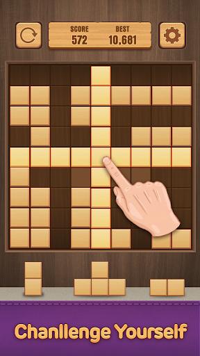 Wood Puzzle Block -Classic Puzzle Block Brain Game 1.5 screenshots 3