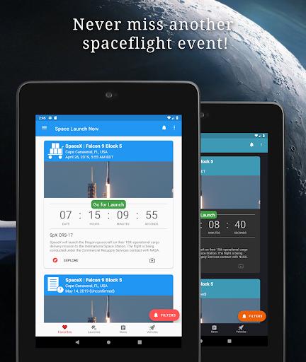 Space Launch Now - Watch SpaceX, NASA, etc...live! apktram screenshots 11