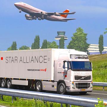 Captura de Pantalla 1 de Euro Cargo Truck Simulator 2020 : Driving Master para android