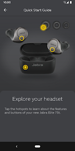 Jabra Sound+ Screenshot