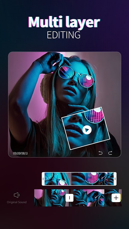 Magic Video Maker - Video Editor with music  poster 3