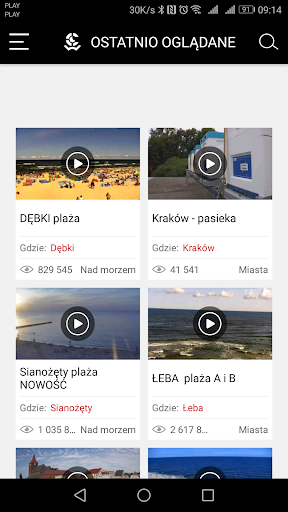 WebCamera.pl - live streaming 2.5.0 Screenshots 2