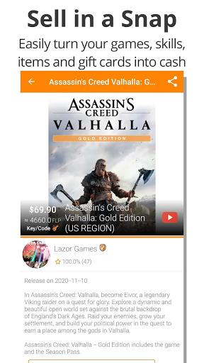 Gameflip: Buy & Sell Games, Game Items, Gift Cards apktram screenshots 3