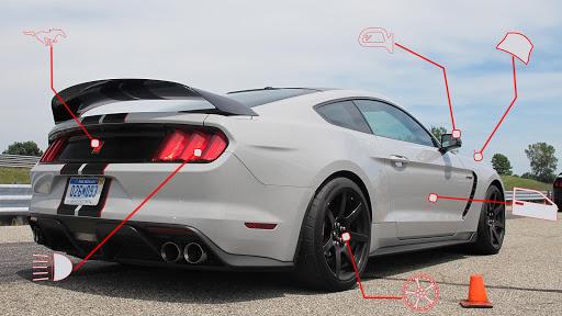 Mustang GT 350r: Extreme City Stunts Drive & Drift  Screenshots 1