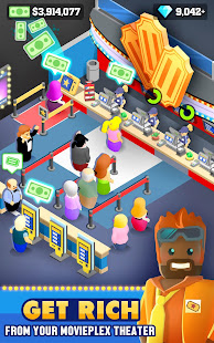Менеджер кинотеатра (Box Office Tycoon) 1.10.0 APK + Мод (Unlimited money) за Android